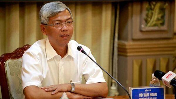 Ông Võ Văn Hoan, Chánh văn phòng kiêm người phát ngôn UBND TP.HCM - Sputnik Việt Nam