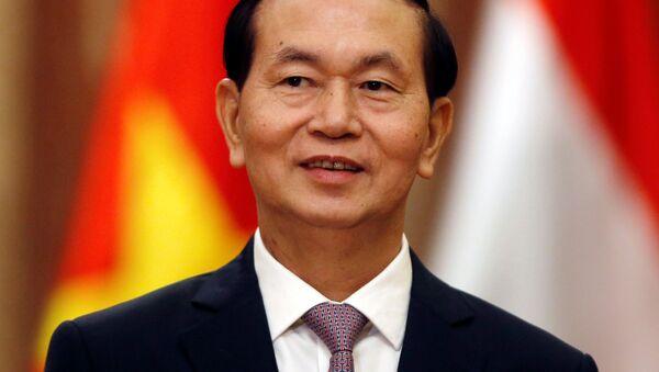 Chủ tịch CHXHCN Việt Nam Trần Đại Quang - Sputnik Việt Nam