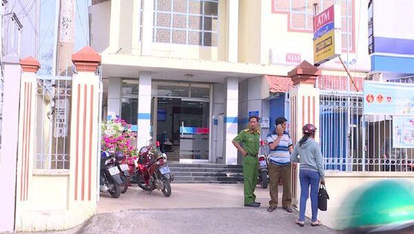 Hiện trường vụ cướp ngân hàng - Sputnik Việt Nam