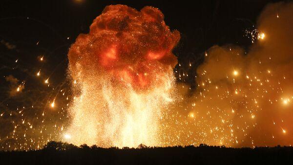 Vụ cháy kho quân sự gần Vinnitsia - Sputnik Việt Nam