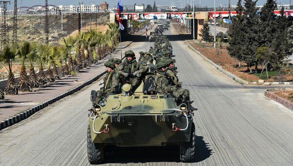 quân đội Nga tại Syria - Sputnik Việt Nam