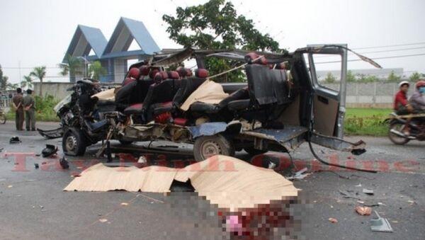 Hiện trường vụ tai nạn - Sputnik Việt Nam