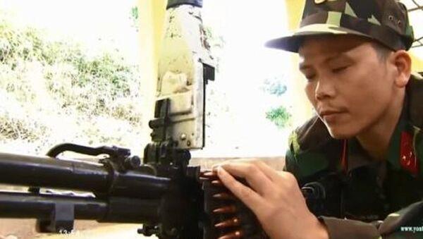 Thử nghiệm đạn Việt Nam tự sản xuất. - Sputnik Việt Nam