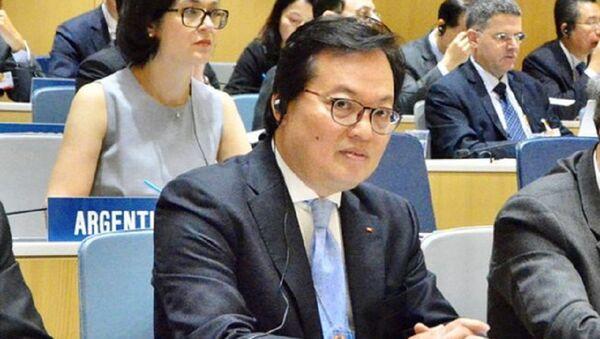 Đại sứ Dương Chí Dũng, Trưởng Phái đoàn thường trực Việt Nam bên cạnh Liên Hiệp Quốc - Sputnik Việt Nam