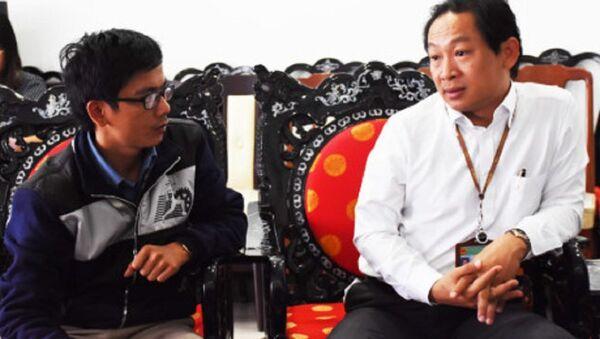 Nguyên Phó giám đốc Sở Ngoại vụ Đà Nẵng Mai Đăng Hiếu - Sputnik Việt Nam