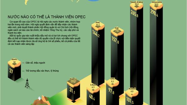 Tổ chức các nước xuất khẩu dầu mỏ (OPEC) - Sputnik Việt Nam