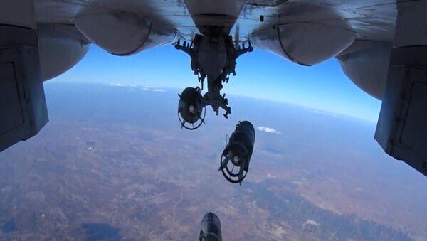 không kích của Không quân Nga - Sputnik Việt Nam