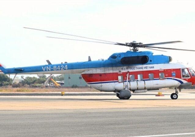Trực thăng Mi-172 thuộc biên chế Binh đoàn 18 - Tổng công ty trực thăng Việt Nam