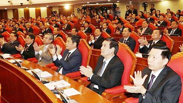 Hội nghị trung ương 6 lần này quan tâm đến vấn đề phương thức lãnh đạo của Đảng và sắp xếp lại bộ máy chính trị - Sputnik Việt Nam