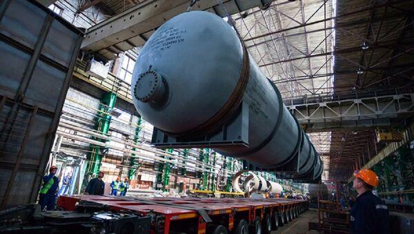 Thiết bị sản xuất tại công ty Nga Silovye mashiny dành cho nhà máy Long Phú-1 - Sputnik Việt Nam
