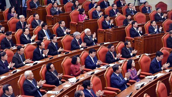 Hội nghị Trung ương 6 khóa XII của Đảng - Sputnik Việt Nam