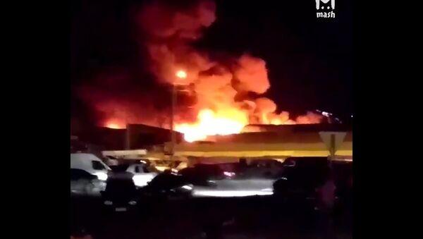 vụ cháy tại Rostov - Sputnik Việt Nam