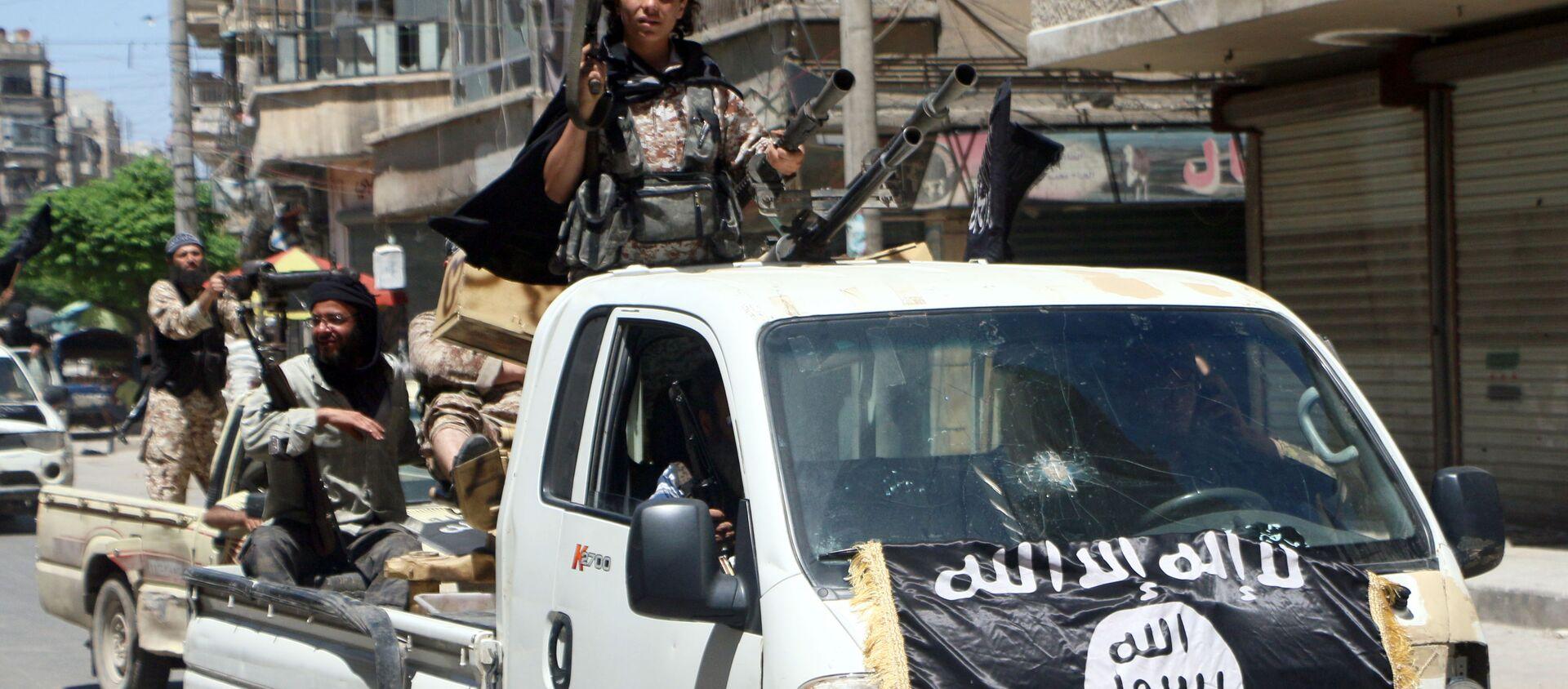 Jabhat al-Nusra (tổ chức khủng bố, bị cấm ở Nga) - Sputnik Việt Nam, 1920, 01.06.2021
