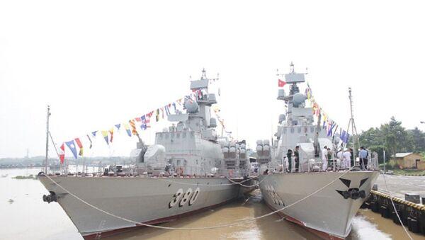 Một cặp tàu tên lửa tấn công nhanh lớp Molniya - Sputnik Việt Nam