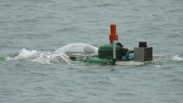 Tàu ngầm Hoàng Sa thử nghiệm trên vùng biển Quảng Ninh năm 2016 - Sputnik Việt Nam