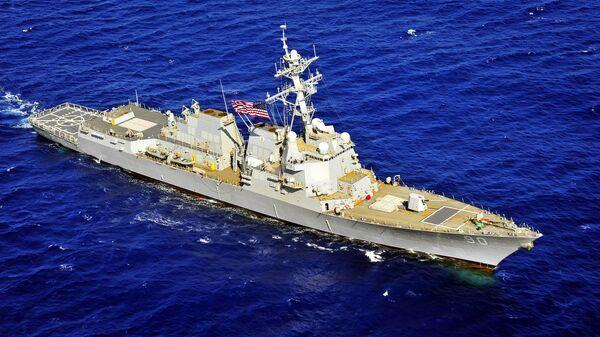 Tàu chiến Hải quân Mỹ USS Chafee - Sputnik Việt Nam