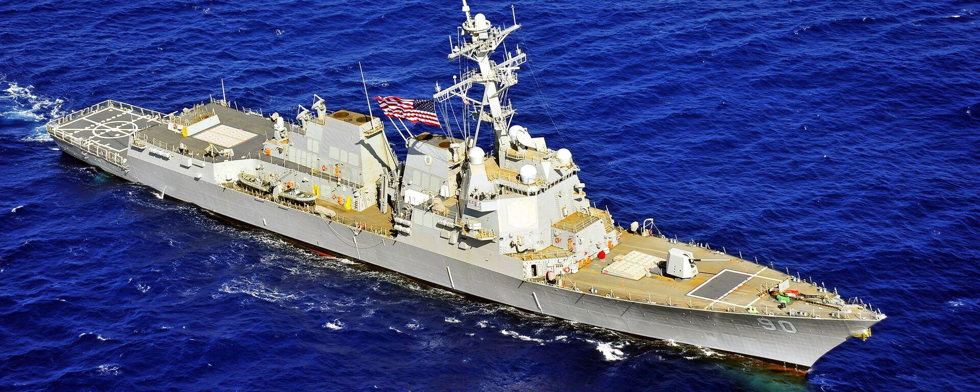 Tàu chiến Hải quân Mỹ USS Chafee - Sputnik Việt Nam, 1920, 08.05.2018