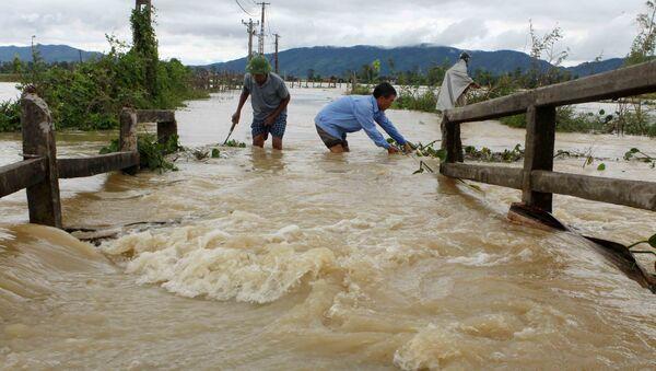 Lũ lụt ở Nghệ An. - Sputnik Việt Nam