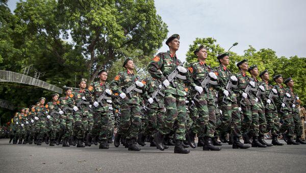 Các chiến sĩ Việt Nam - Sputnik Việt Nam