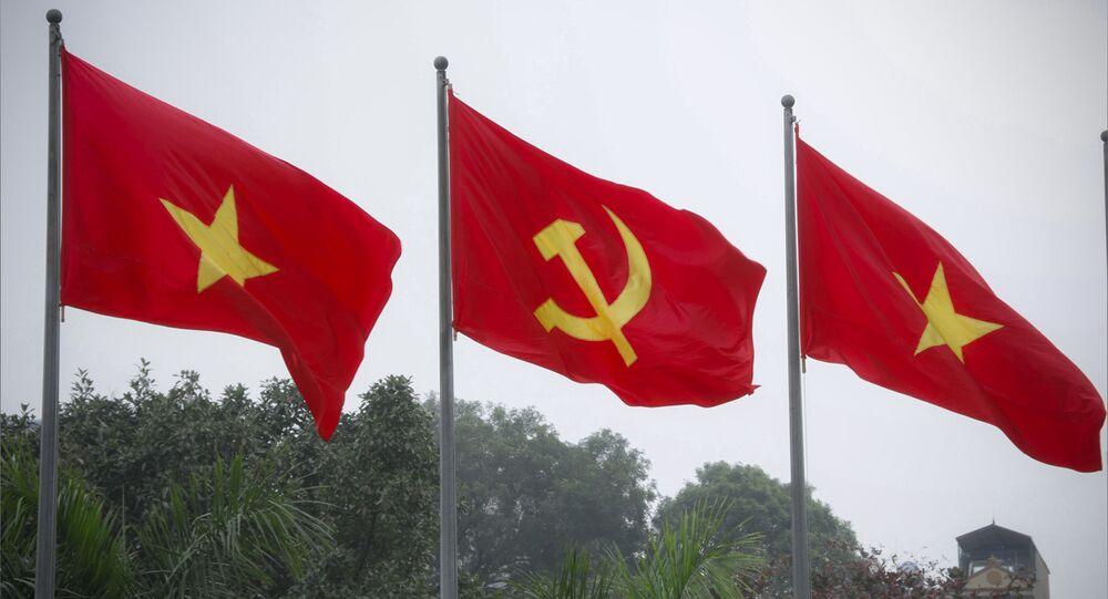 Cờ Việt Nam và Đảng Cộng sản