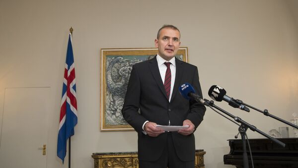 Президент Исландии Гвюдни Йоуханнессон - Sputnik Việt Nam