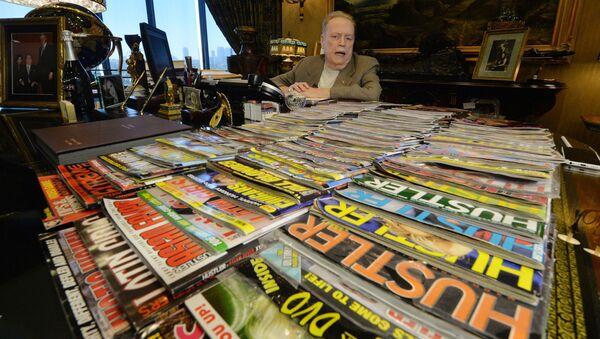 Ông Larry Flynt, người sáng lập tạp chí dành cho người lớn Hustler - Sputnik Việt Nam