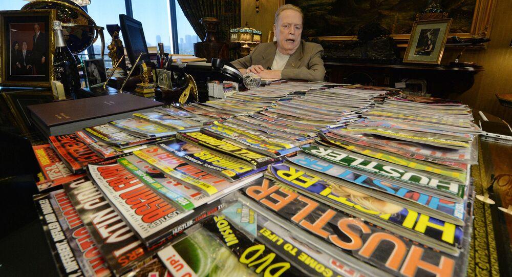 Ông Larry Flynt, người sáng lập tạp chí dành cho người lớn Hustler