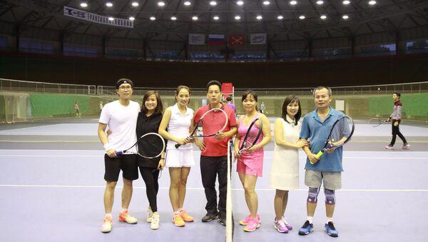 Giải đấu của Hội quần vợt người Việt tại Liên bang Nga. - Sputnik Việt Nam