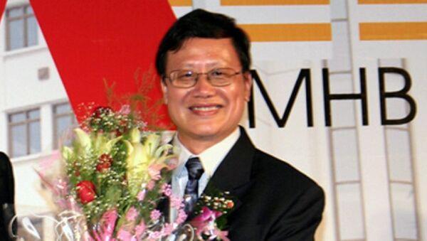 Ông Huỳnh Nam Dũng tại lễ ra mắt MHBS - Sputnik Việt Nam