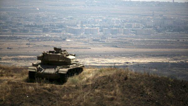 biên giới Syria- Israel - Sputnik Việt Nam