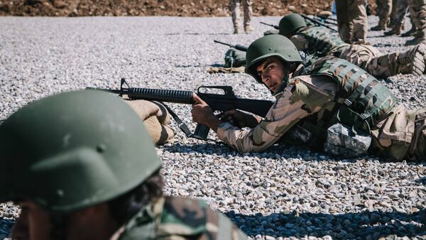 Đơn vị lực lượng Ảrập-Kurd - Sputnik Việt Nam