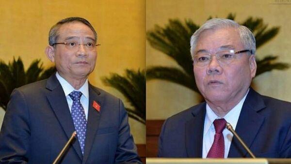 Quốc hội sẽ miễn nhiệm Bộ trưởng Bộ GTVT và Tổng Thanh tra Chính phủ - Sputnik Việt Nam