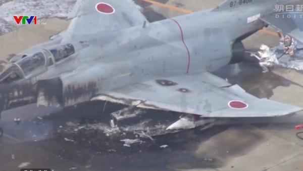 Máy bay chiến đấu của Nhật Bản bốc cháy - Sputnik Việt Nam