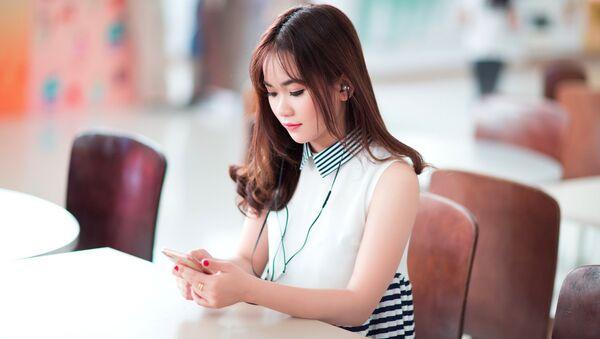 Сô gái - Sputnik Việt Nam