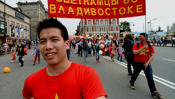 người Việt ở Vladivostok - Sputnik Việt Nam