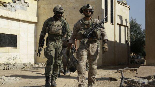 Soldados estadounidenses en Siria - Sputnik Việt Nam