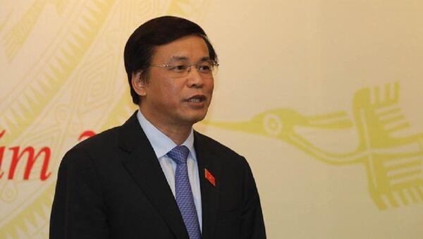 Tổng thư ký Quốc hội Nguyễn Hạnh Phúc - Sputnik Việt Nam