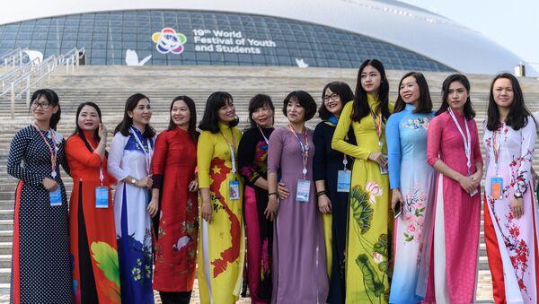Đại biểu Việt Nam tham gia Festival Thanh niên và Sinh viên thế giới lần thứ XIX tại Sochi - Sputnik Việt Nam