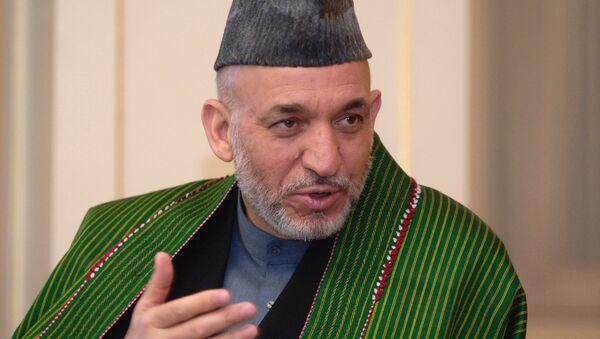 Hamid Karzai - Sputnik Việt Nam