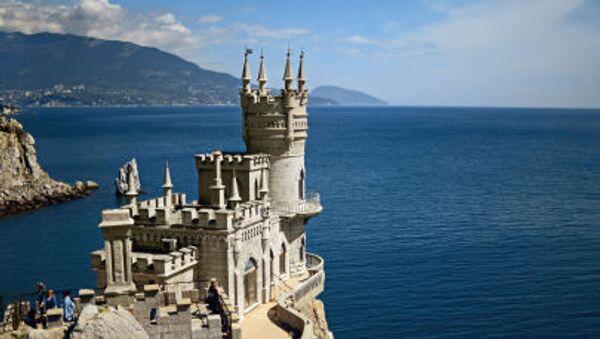 Lâu đài Tổ Yến, di tích kiến trúc trên bán đảo Crưm - Sputnik Việt Nam
