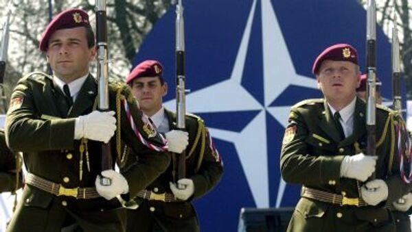 Quân nhân Slovakia diễu hành ở Bratislava sau khi đất nước gia nhập  NATO - Sputnik Việt Nam