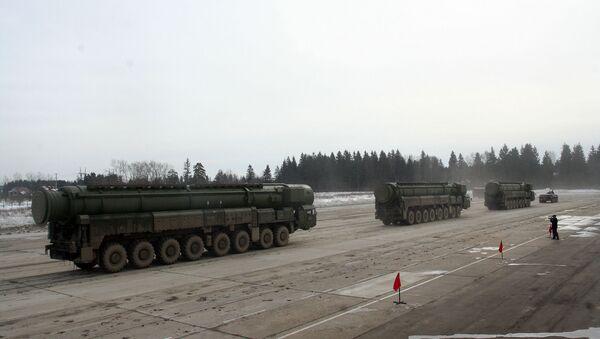 Lực lượng hạt nhân chiến lược của Nga - Sputnik Việt Nam
