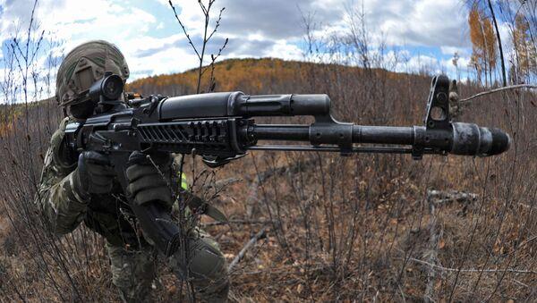 Phương án trang bị chiến đấu của lực lượng đặc nhiệm Bộ Quốc phòng Liên bang Nga. - Sputnik Việt Nam