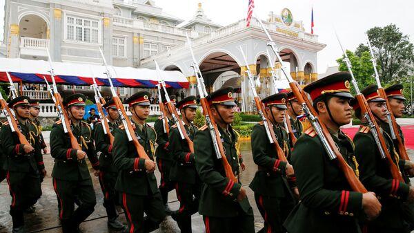 Lính Lào (ngày 6 tháng 9 năm 2016) - Sputnik Việt Nam
