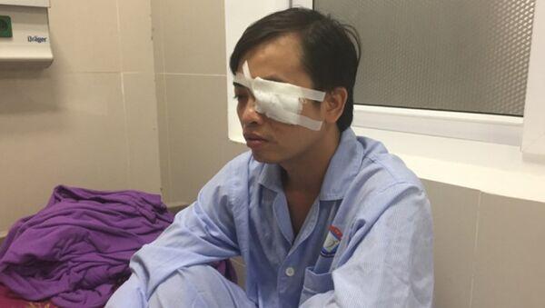 Bác sỹ Sơn đang điều trị tại Bệnh viện Việt Nam - Sputnik Việt Nam