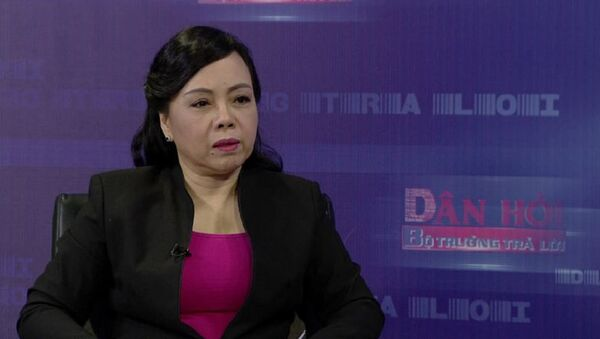 Bộ trưởng Bộ Y tế Nguyễn Thị Kim Tiến - Sputnik Việt Nam