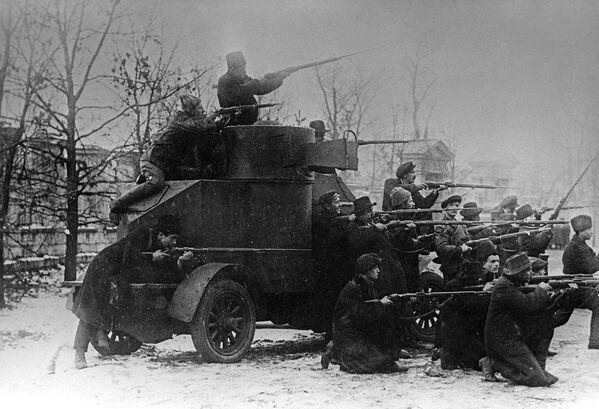 Cách mạng tư sản-dân chủ tháng Hai năm 1917. Khởi đầu nổi dậy ở Petrograd. - Sputnik Việt Nam
