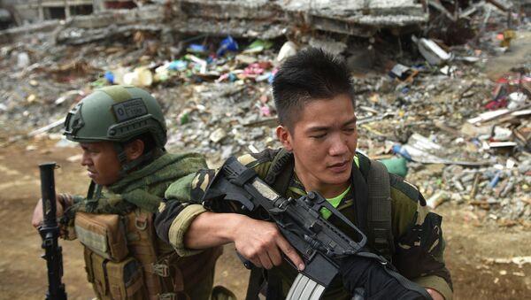 thành phố Marawi (Philippines) bị bọn khủng bố chiếm giữ - Sputnik Việt Nam