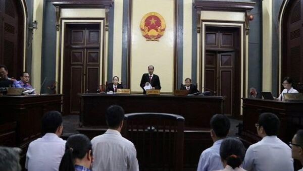 Tại phiên tòa phúc thẩm xử vụ VN Pharma ngày 19-10 - Sputnik Việt Nam