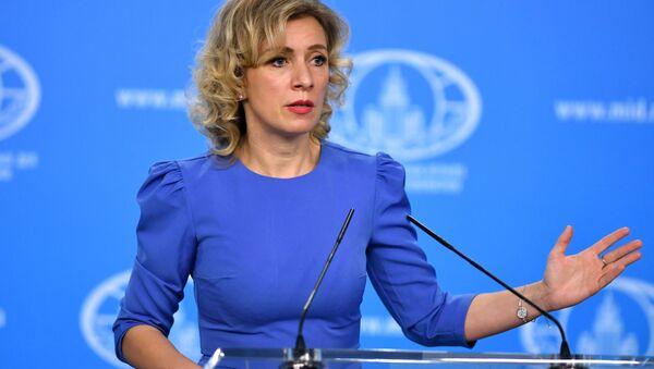 phát ngôn Bộ Ngoại giao Nga Maria Zakharova - Sputnik Việt Nam